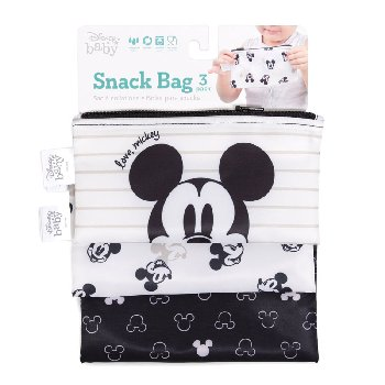 Reusable Snack Bag (3 pack) - Love, Mickey