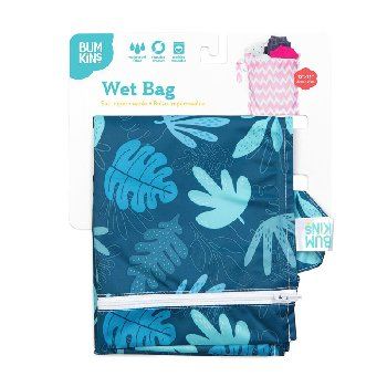 Wet Bag - Blue Tropic