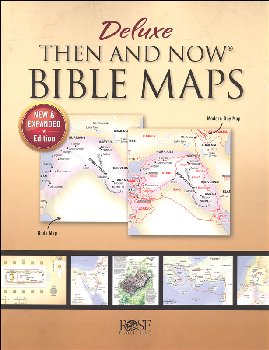 Deluxe Then and Now Bible Maps (New & Expanded) - paperback