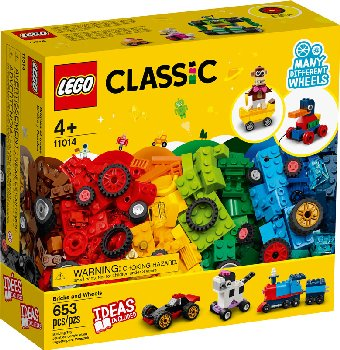 LEGO Classic Creative Bricks and Wheels (11014)