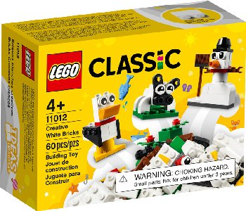 LEGO Classic Creative White Bricks (11012)