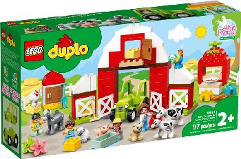 LEGO DUPLO Town Barn, Tractor & Farm Animal Care (10952)