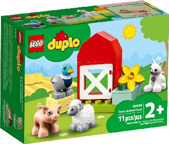 LEGO DUPLO Town Farm Animal Care (10949)