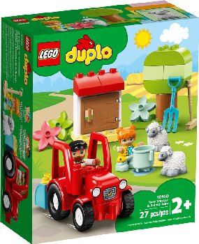 LEGO DUPLO Town Farm Tractor & Animal Care (10950)