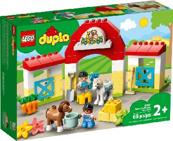 LEGO DUPLO Town Horse Stable and Pony Care (10951)