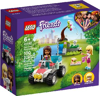 LEGO Friends Vet Clinic Rescue Buggy (41442)