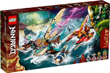 LEGO Ninjago Catamaran Sea Battle (71748)