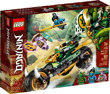 LEGO Ninjago Lloyd's Jungle Chopper Bike (71745)