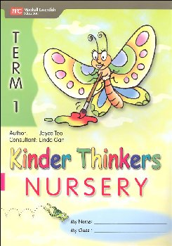 Kinder Thinkers English Nursery Term 1 Activity Book
