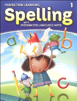Spelling with Integrated Language Arts Student Book Grade 1