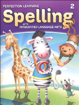 Spelling with Integrated Language Arts Student Book Grade 2