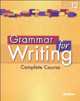 Grammar for Writing Student Edition Grade 12