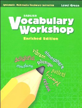 Vocabulary Workshop Enriched Student Edition Grade 3 (Green)