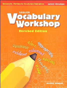 Vocabulary Workshop Enriched Student Edition Grade 4 (Orange)