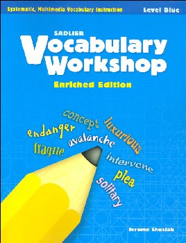 Vocabulary Workshop Enriched Student Edition Grade 5 (Blue)