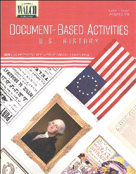 Document-Based Activities: US History Book 1