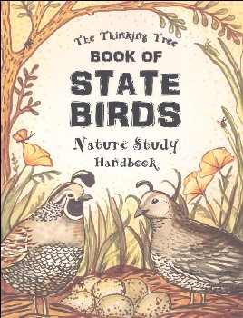Book of State Birds Nature Study Handbook