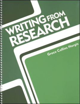 Writing From Research Teacher's Edition