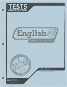 Writing/Grammar 2 Testpack Key 2ed
