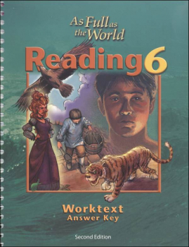 Reading 6 Worktext Teacher Edition 2nd Edition