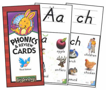 Beginnings K5 Phonics & Review Cards 3ED