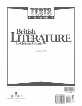 British Literature Tests 2ED UV