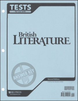 British Literature Testpack Key Updated Version
