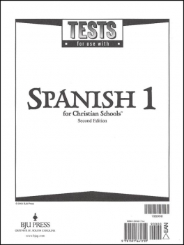 Spanish 1 Tests 2ED