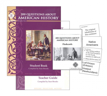 200 Questions About American History Set