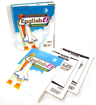 English 4 Home School Kit 2ED