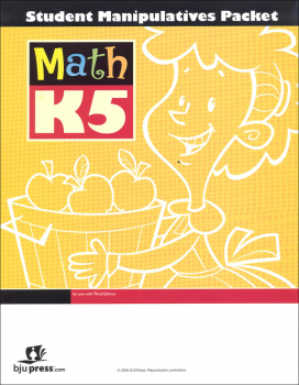 Math K5 Student Manipulative Packet 3rd Edition