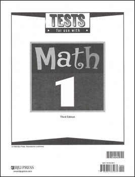 Math 1 Test Pack 3rd Edition