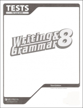 Writing/Grammar 8 Testpack 3ED
