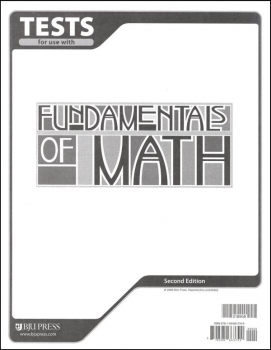 Fundamentals of Math Tests 2ED