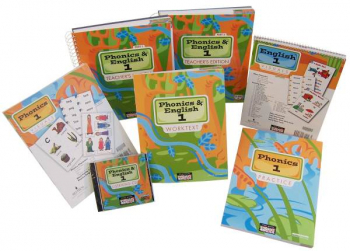 Phonics & English 1 Home School Kit