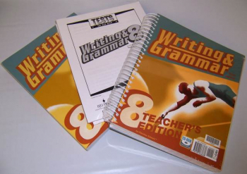 Writing/Grammar 8 Home School Kit 3ED