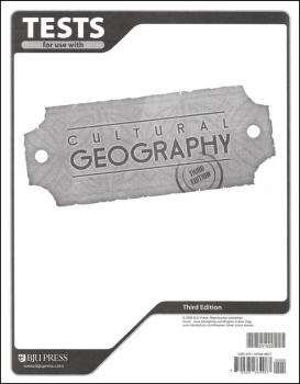 Geography Tests 3ED