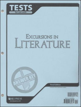 Excursions in Literature Tests Answer Key 3ED