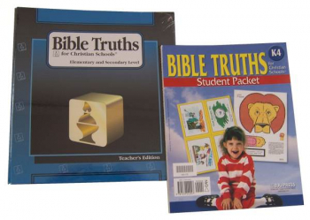 Bible Truths K4 Home School Kit