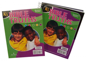 Bible Truths K5 Home School Kit 2ED UV