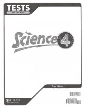 Science 4 Tests Only 3ED
