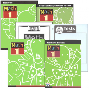 Math 1 Home School Kit 3rd Edition