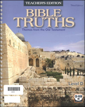 Bible Truths D Teacher Edition w/ CD 3ED