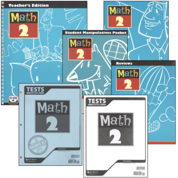 Math 2 Home School Kit 3ed
