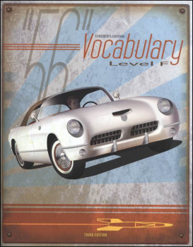 Vocabulary F Teacher 3rd Edition