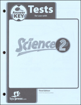 Science 2 Testpack Answer Key 3rd Edition