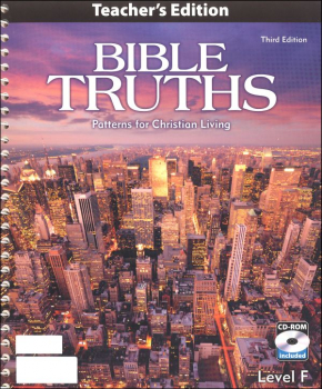 Bible Truths F Teacher w/ CD 3ED