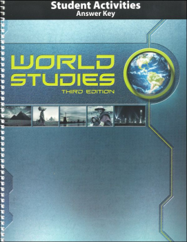 World Studies Activity Manual Teacher Edition 3rd Edition