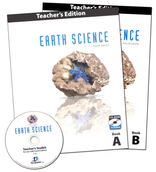 Earth Science Teacher (book & cd) 4th Edition