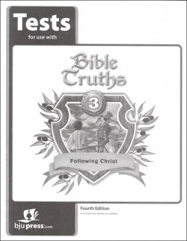 Bible Truths 3 Tests 4th Edition